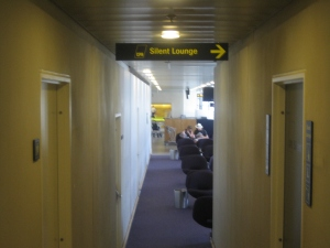 The silent lounge, Copenhagen airport
