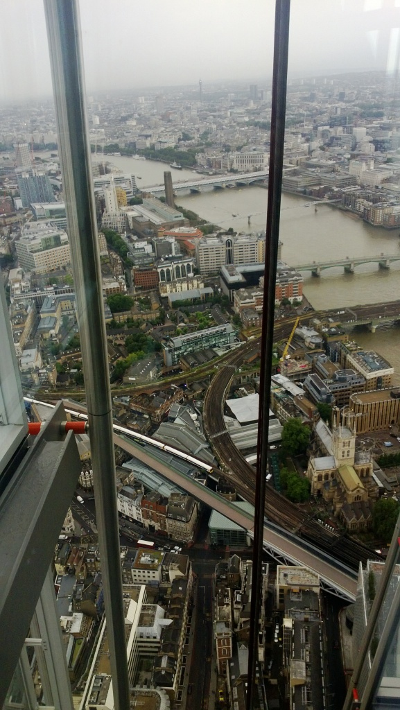 View from the Shard, Rowland Atkinson, 2014